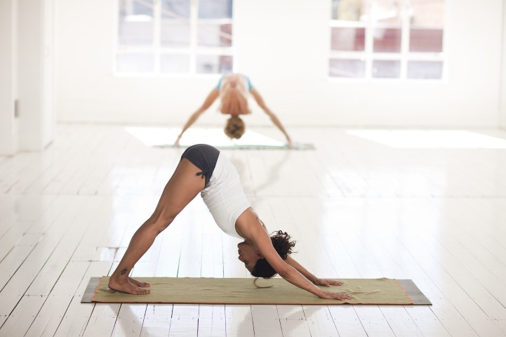Yoga Chemnitz - Klassiker herabschauender Hund