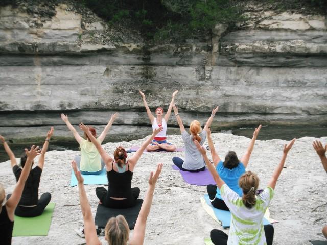 Yoga Chemnitz - Yoga im Freien